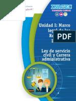 Tema 3 - Ley de servicio civil y carrera administrativa.pdf