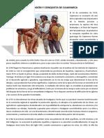 La Invasión y Conquista de Cajamarca