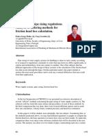 International Pipe Sizing Regulations