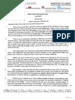 MRSM SPM trial 2019 - Summary Writing