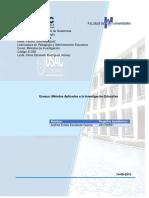 Ensayo Metodos Aplicados a La Investigación Educativa -Andrea Escalante