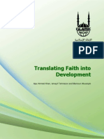 Translating Faith Into Development