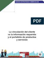 vinculacion del cliente vs informacion requerida