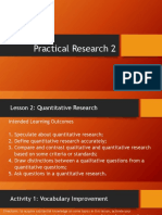 1. Quantitative Research