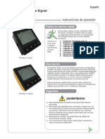 Transmisor 9900 Signet