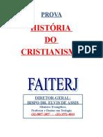 05 - História Do Cristianismo 1 (Prova)