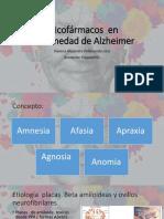 Psicofarmacos en Enfermedad de Alzheimer
