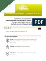 Estudio Jurisprudencial Sobre El Derecho Al Trabajo de Los Vendedores Ambulantes en Bogotá.