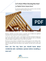 Important Facts to Know When Choosing New Roof