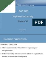 EnS Lecture 14