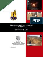 Plan de Gestión Del Riesgo de Desastres