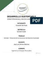 Desarrollo sustentable actividad 1