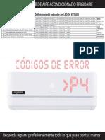 Codigos de Error Aire Acondicionado.pdf