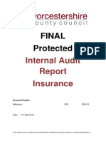 Report Insurance 2014 to 2015