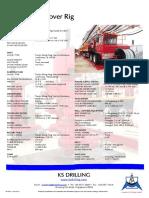 Short Specs - Workover Land Rig - PPE4 (450hp) - [Rev 20 Aug 14]