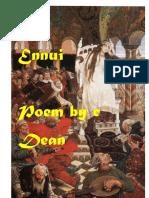 Ennui-erotic poetry