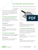 How to identify common tactics that scammers use- Consumer Financial Protection Bureau.pdf
