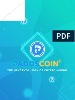 SCAM WARNING - PADOSCOIN - PLAGIARIZED