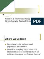 Chapter 8 Statistics