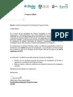 Invitación a DOCENTES y Respectivos Formatos de Permiso (FERIA MUNICIPAL)