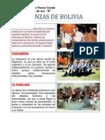 12 Danzas de Bolivia