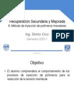 8. Método de Inyección de Polímeros Miscelares
