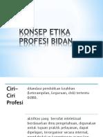 3. Konsep Etika Profesi Bidan