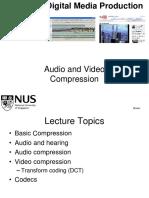 Lecture10 AudioVideo Compression