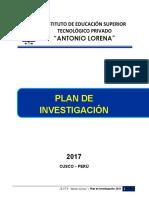 Plan de Investigacion 2017