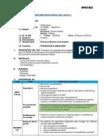DISEÑO DEL GIA Procesos de Planificación