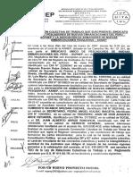 Convención Colectiva - SUPNEP - AANEP - 2007-2012