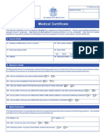 C3 Medical Certificate