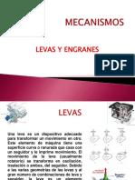 Unidad III y IV Levas y Engranes