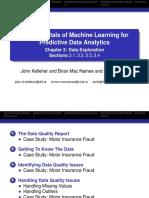 BookSlides 3A Data Exploration