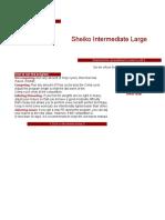 Sheiko Intermediate Large Load