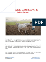 Farming in India and Methods Use by Indian Farmer