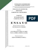 ENSAYO H. COMUNICATIVAS