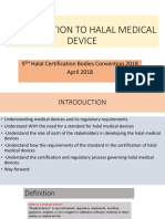Presentation 5 an Introduction to Halal Medical Device