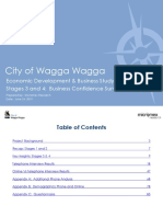 Report Wagga Wagga City Council Economic Development Study Stages 3 and 4 2019-06-24