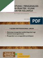 30196 Menghitung Analisis Biaya Praktek