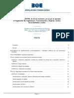 Real Decreto 2568-1986