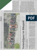 Botschaft 24. April 2019 - VC Leibstadt - Ferien(s)pass im Bikepark