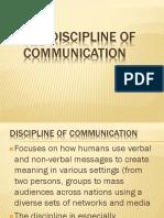 THE DISCIPLINE OF COMMUNICATION.pptx