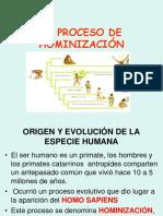 El Proceso de Humanización