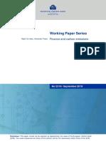 ECB Finance and carbon emissions,2019.pdf