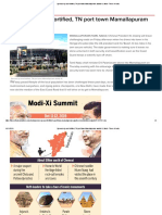 Spruced up and fortified, TN port town Mamallapuram awaits Xi, Modi - Times of India.pdf