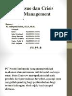 Ppt Isu Dan Crisis Management
