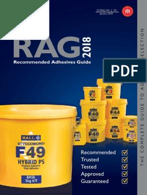 Fball Rag18 Sp Adhesive Flooring