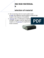 Connecting Rod Material Selection