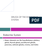 Drugs of the Endocrine System
